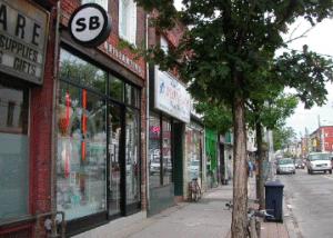 Local  Queen St. Shops