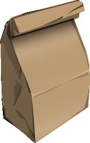 green-paper bag